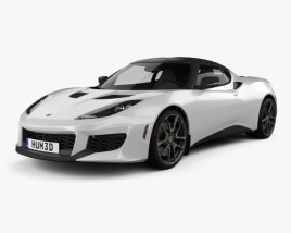 3D model of Lotus Evora 400 2014