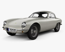 3D model of Lotus Elite 1957