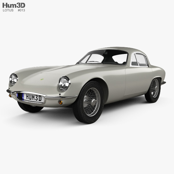 Lotus Elite 1957 3D model