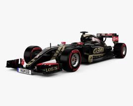 3D model of Lotus E23 Hybrid 2015
