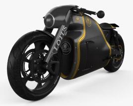 3D model of Lotus C-01 2014