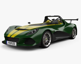 3D model of Lotus 3-Eleven 2016