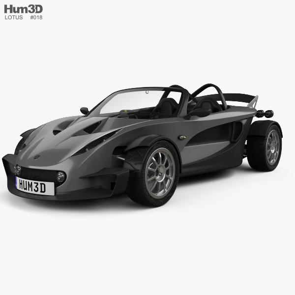 Lotus 340R 1999 3D model