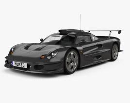 3D model of Lotus Elise GT1 1997
