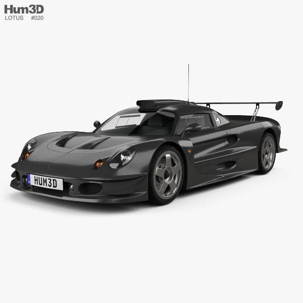Lotus Elise GT1 1997 3D model