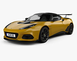3D model of Lotus Evora GT 430 2018
