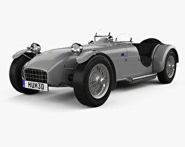 3D model of Lotus Seven 1957