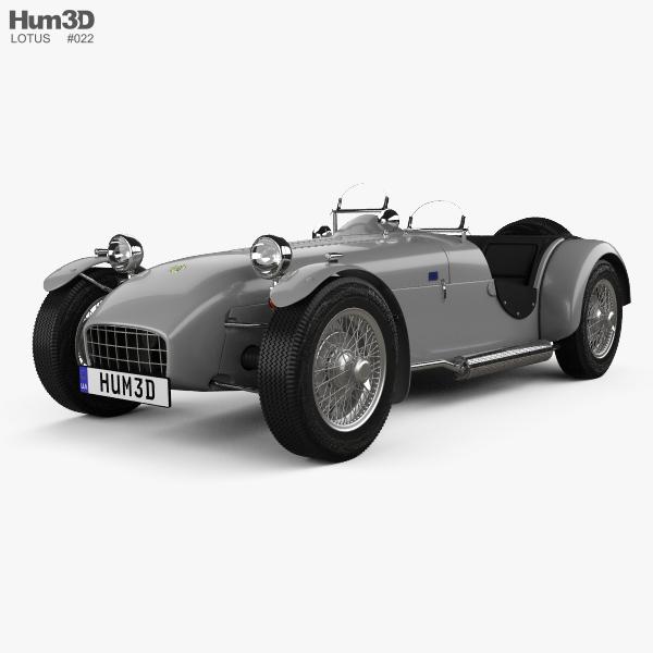 Lotus Seven 1957 3D model