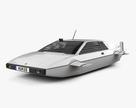 3D model of Lotus Esprit James Bond Wet Nellie 1977