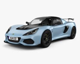 3D model of Lotus Exige Sport 410 2018