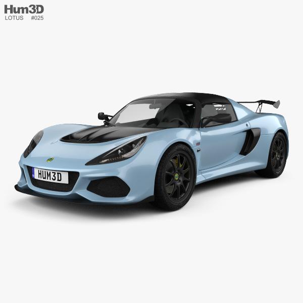 Lotus Exige Sport 410 2018 3D model