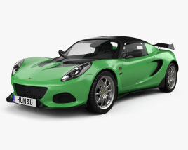 Lotus Elise Cup 250 2017 3D model