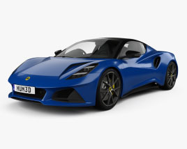 Lotus Emira First Edition 2021 3D model
