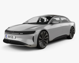 3D model of Lucid Air 2016