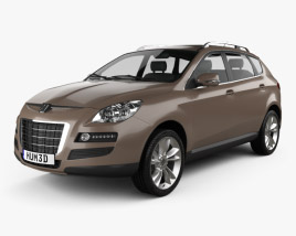 3D model of Luxgen 7 SUV 2010