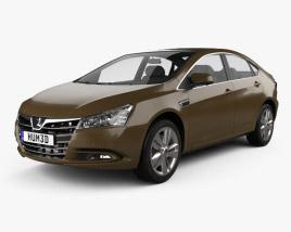 3D model of Luxgen 5 Sedan 2012