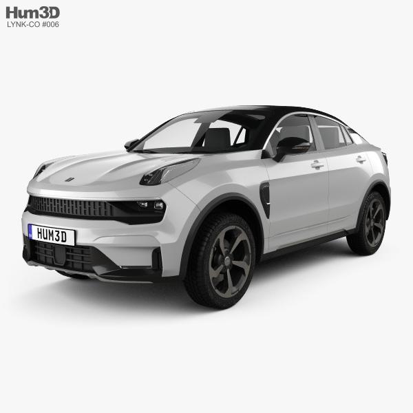 3D model of Lynk & Co 05 2019