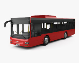 3D model of MAN Lion's City M Bus 2006