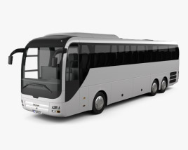3D model of MAN Lion's Coach C Bus 2007