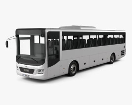 3D model of MAN Lion's Intercity Bus 2015