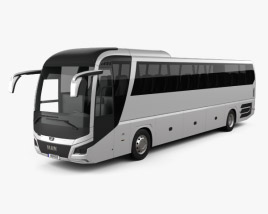 3D model of MAN Lion's Coach C Bus 2017
