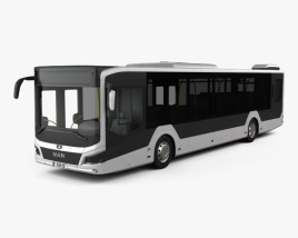 3D model of MAN Lion's City Bus 2018