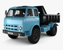 3D model of MAZ 503A Dump Truck 1970