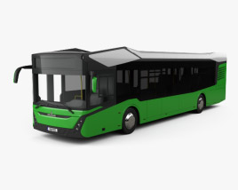 3D model of MAZ 303 Bus 2019