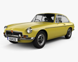 3D model of MG MGB GT V8 1973