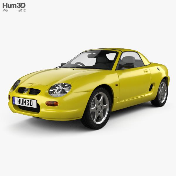 MG F 1999 3D model