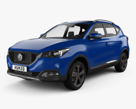 3D model of MG ZS 2017