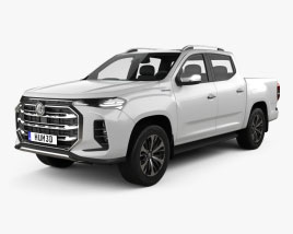 MG Extender Double Cab 2021 3D model