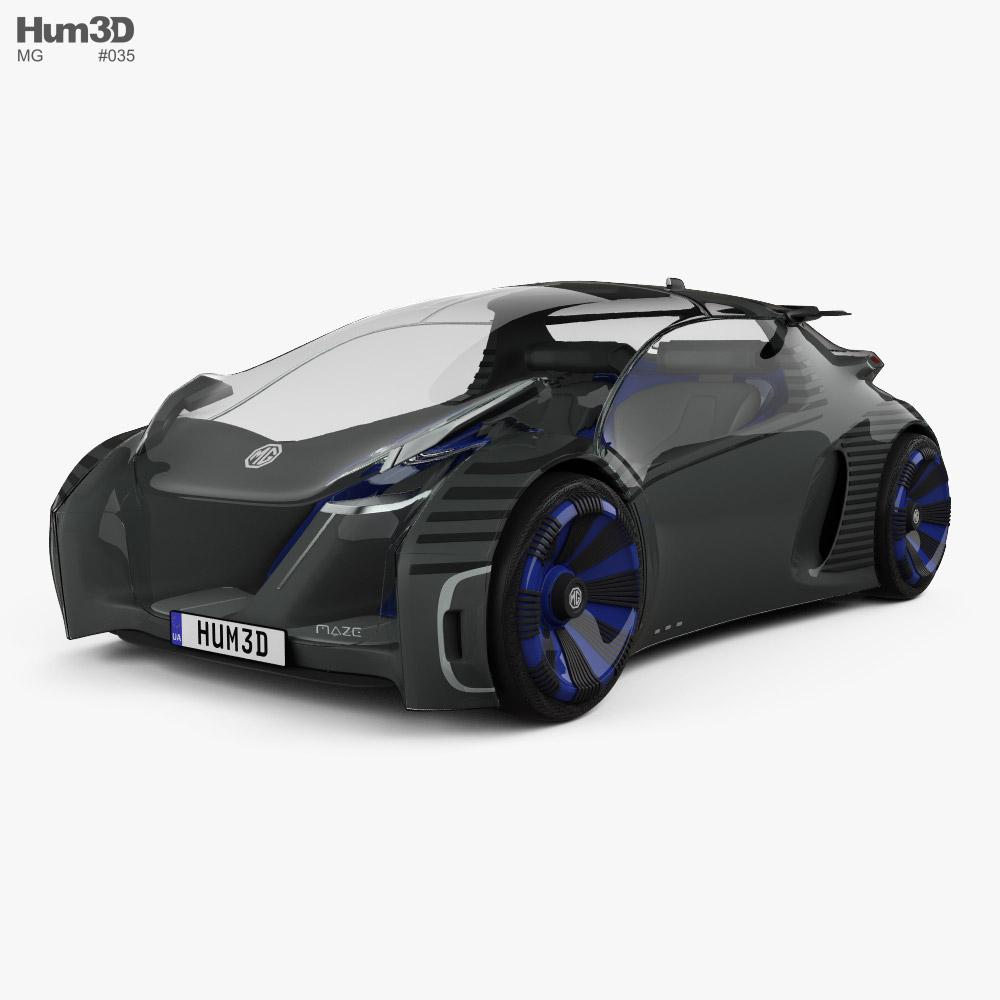 MG Maze 2021 3D model