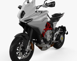 3D model of MV Agusta Turismo Veloce 800 2014