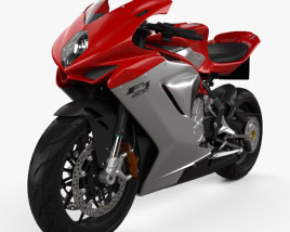 3D model of MV Agusta F3 800 2014