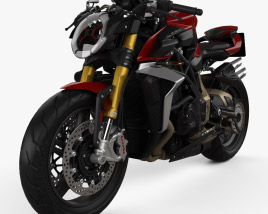 3D model of MV Agusta Brutale 1000 Serie Oro 2020