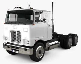 3D model of Mack F700 Tractor Truck 1962