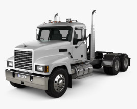 3D model of Mack Pinnacle Tractor Truck 2006