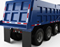 Mack RD600 Dump Truck 2000 3d model
