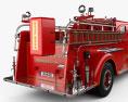 Mack Type 85 Fire Truck 1950 3d model