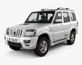 3D model of Mahindra Scorpio 2009