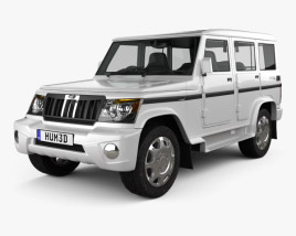 3D model of Mahindra Bolero 2001