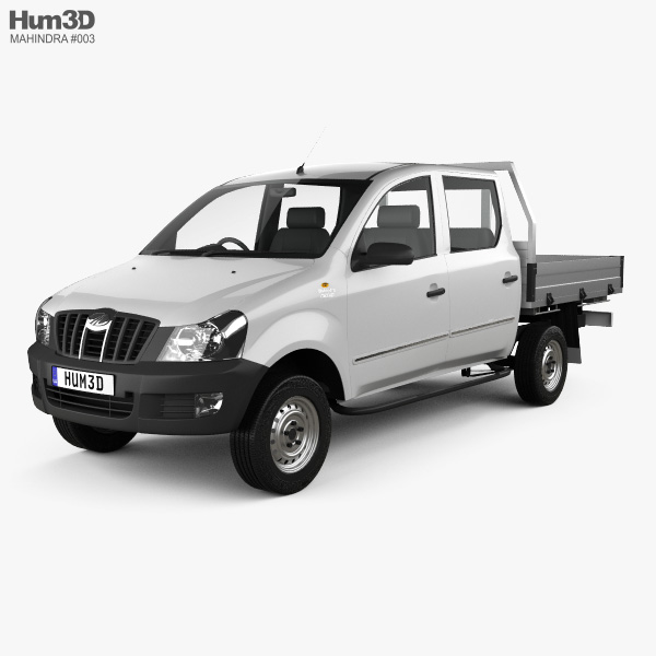 Mahindra Genio Dual Cab Pickup 2011 3D model