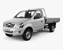 3D model of Mahindra Genio Single Cab Pickup 2011