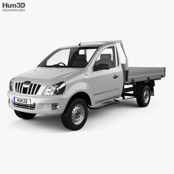 Mahindra Genio Single Cab Pickup 2011 3D model