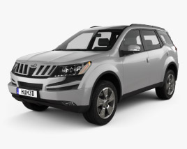 3D model of Mahindra XUV500 2011