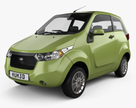 3D model of Mahindra e2o 2013