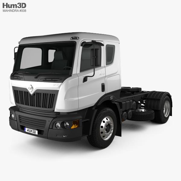 Mahindra Navistar MN35 Tractor Truck 2010 3D model