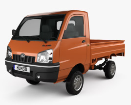 3D model of Mahindra Maxximo Pickup 2010