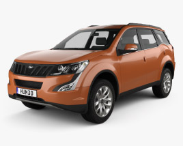 3D model of Mahindra XUV500 2015